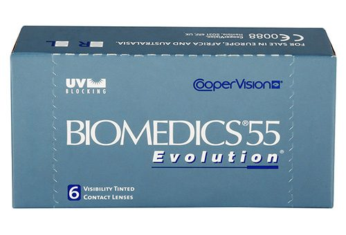 Biomedics 55 evolution od Cooper Vision